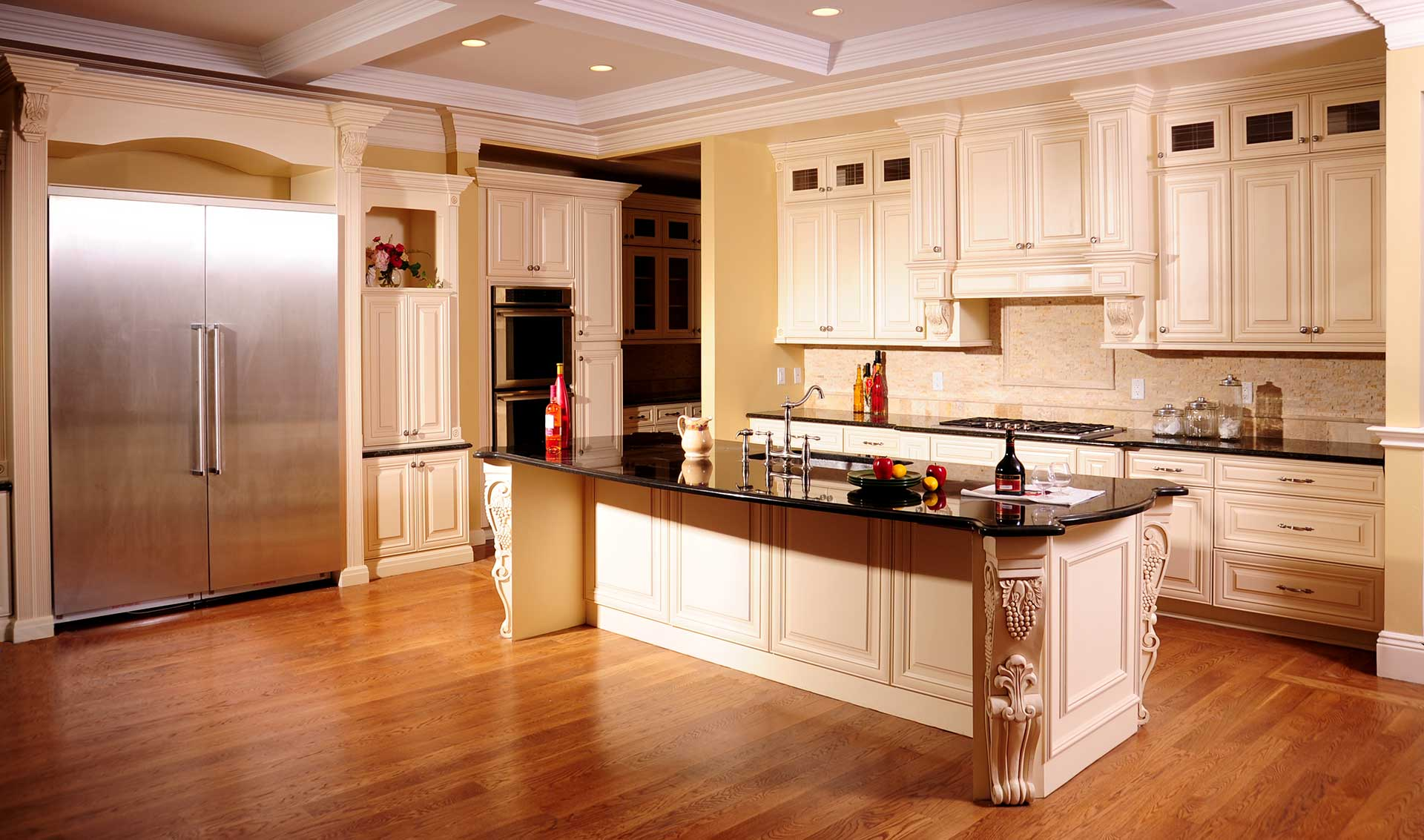 mkcabinet prefab kitchen cabinets Counter Top Cabinet Expert